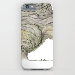 calm after the storm iPhone Case