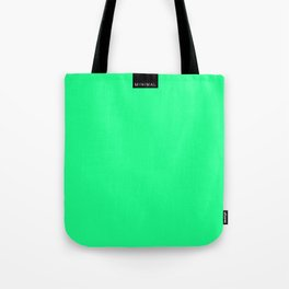 Minimal Green Light Tote Bag