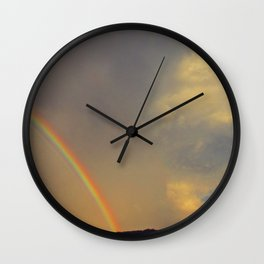 .over the rainbow. Wall Clock