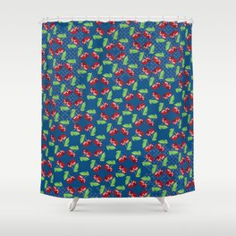 the bomb Shower Curtain