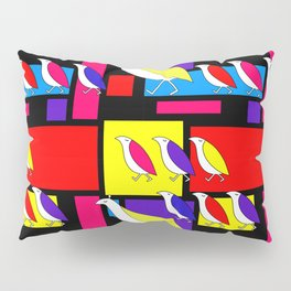 Partridge Parade Pillow Sham