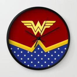 Wonder Of Woman - Superhero Wall Clock