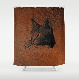 Cat20170501_by_JAMColorsSpecial Shower Curtain