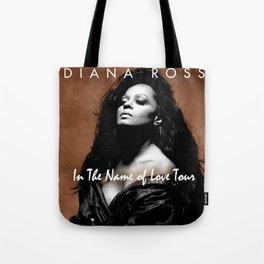 DIANA ROSS THE NAME OF LOVE TOUR 2019 KRIPTON Tote Bag