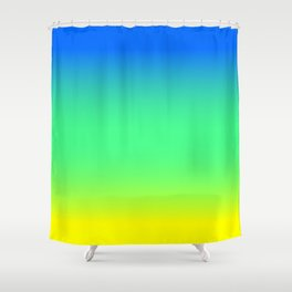 Tropical Horizon Ombre Shower Curtain