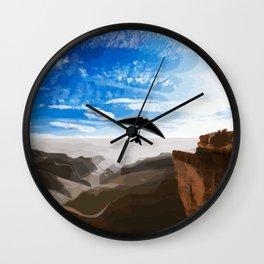 Hang gliding Wall Clock