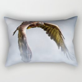 Golden Eagle Rectangular Pillow