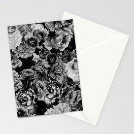 Black Roses Stationery Cards