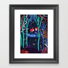 Darkest Part of the Forest Framed Art Print