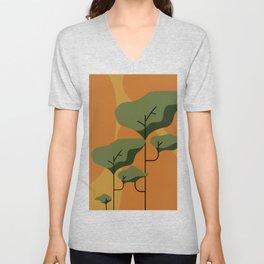 Autumn Forest Art Unisex V-Neck