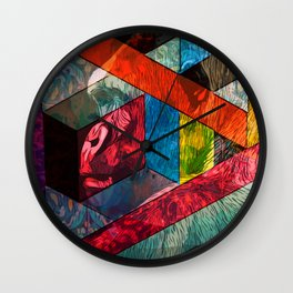 Gorilla & Shapes Wall Clock