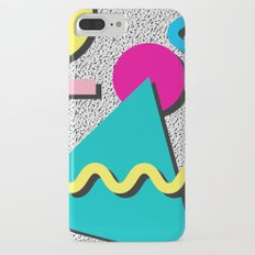 Abstract 1980's Slim Case iPhone 7 Plus