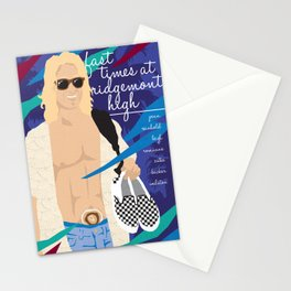80s TEEN MOVIES :: FAST TIMES AT RIDGEMONT HIGH Stationery Cards
