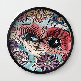 Mind Paralysis Wall Clock