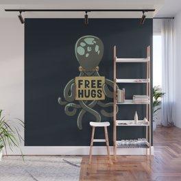 Free Hugs Octopus Wall Mural