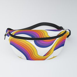 Rainbow Ribbons Fanny Pack