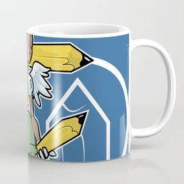 Pencil Warrioress Coffee Mug