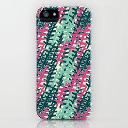 pink n' blue 6 iPhone Case