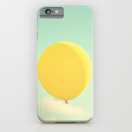 yellow balloon iPhone & iPod Case