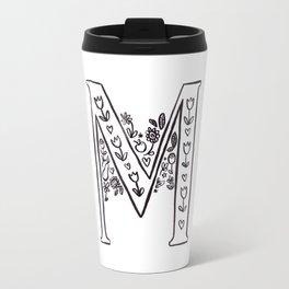 M is for Travel Mug