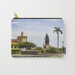 Statue of Cordoba by Lake Nicaragua in Granada Carry-All Pouch