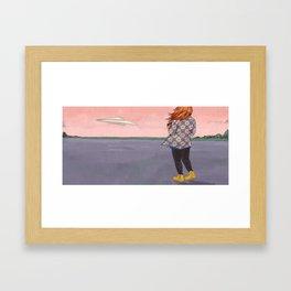 Testing for Product Marketing Framed Art Print