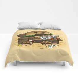 The Dad Burger Comforters