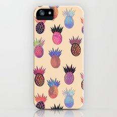 Tutti Frutti - Pineapple Print iPhone (5, 5s) Slim Case
