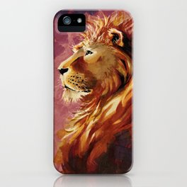 Proud lion iPhone Case