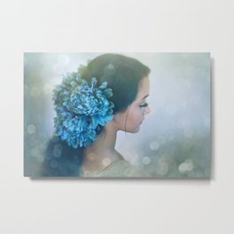 Fairy Light Metal Print