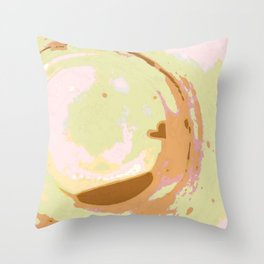 To The Bottom Of The Cup Throw Pillow