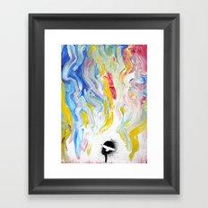 Fly Away Framed Art Print