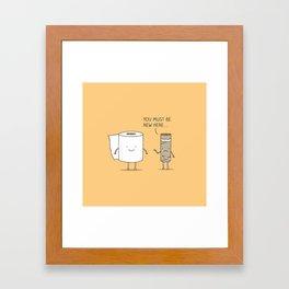 paperwork Framed Art Print