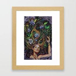 Transmutation Blooms Framed Art Print