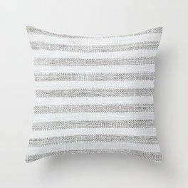 Vintage Farmhouse Grain sack Throw Pillow