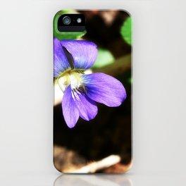 Violet 03 iPhone Case