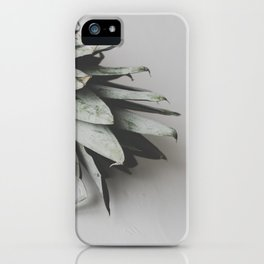 Pineapple on a white background on a table / 53 iPhone Case