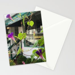 Morning glorys in all their glory Stationery Cards