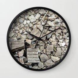Neck Break Wall Clock