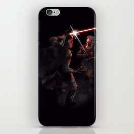 Dark Duel iPhone Skin