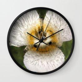 Mariposa Lily 3 Wall Clock