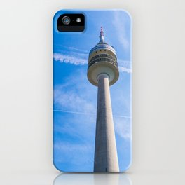 Olmpic tower Munich iPhone Case