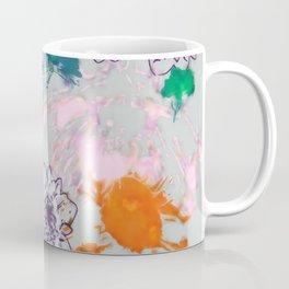 fall floral gray Coffee Mug