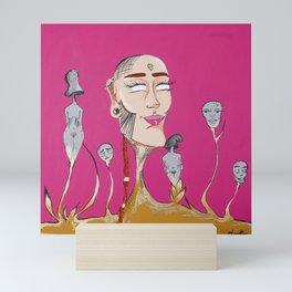 We are all Golden Mini Art Print