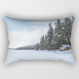 Frozen Over Rectangular Pillow