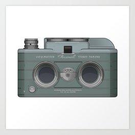 viewmaster camera Art Print