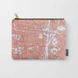 Vintage Map of South Gate California (1964) Carry-All Pouch