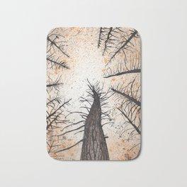 November trees Bath Mat