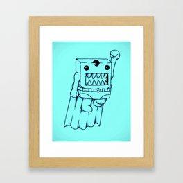 SUPADOMO Framed Art Print