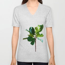 The Greenery Tree (Color) Unisex V-Neck